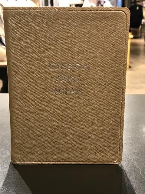 $29.95 London Paris Milan World Shopping Journal
