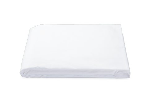 $225.00 Luca white fitted sheet King