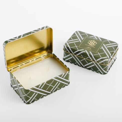 $10.00 Noble Fir 5.5 oz Rectangle Candle Tin -- preorder