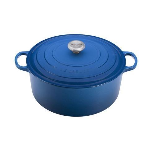 $570.00 13.25 Quart Round Dutch Oven marseille Blue