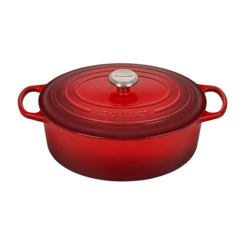 Le Creuset  Cerise / Red 6.75 Quart oval dutch Oven Red $379.95