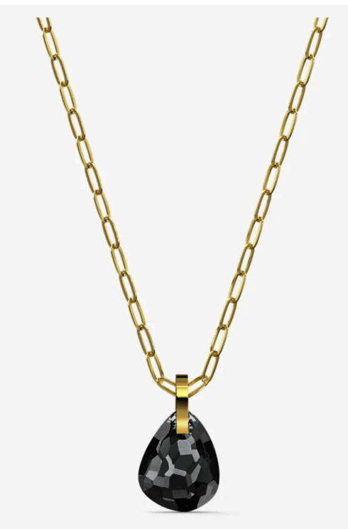$99.00 T BAR PENDANT, GRAY, GOLD-TONE PLATED