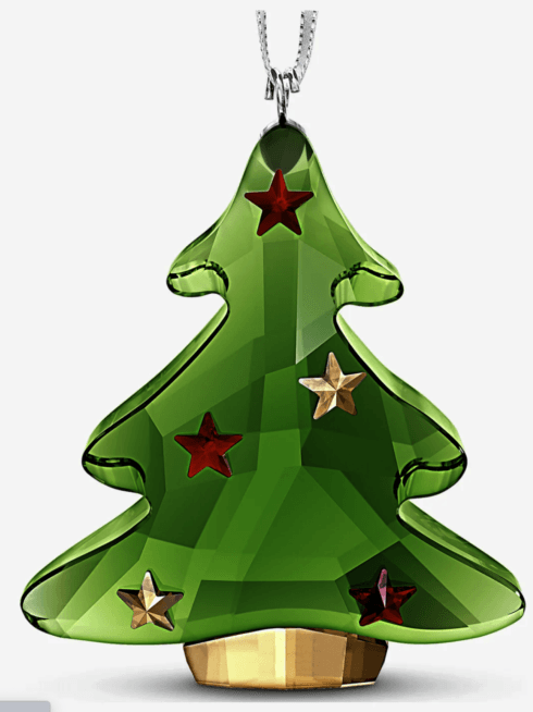 $65.00 2020 swarovski green Tree