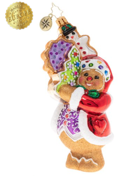 $63.00 The gingerbread man can