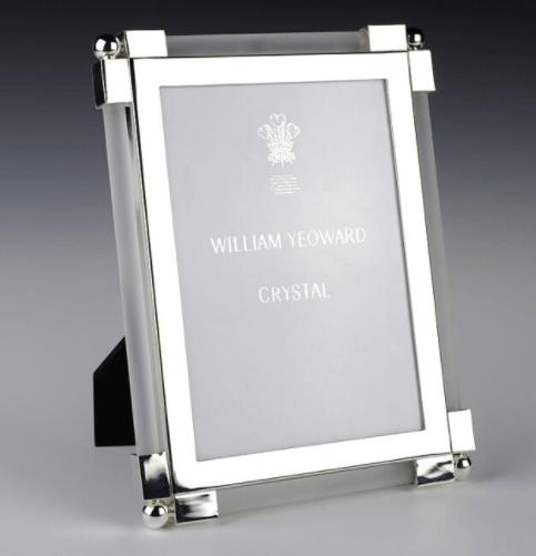 $245.00 Classic Clear Satin 4x6 Frame