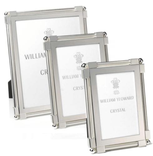 """$245.00 Classic Platinum Frame 4x6"""""""