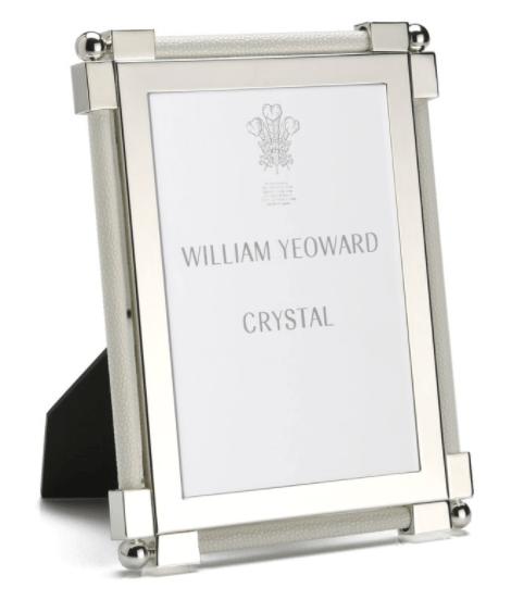 $280.00 Classic Shagreen White 5x7