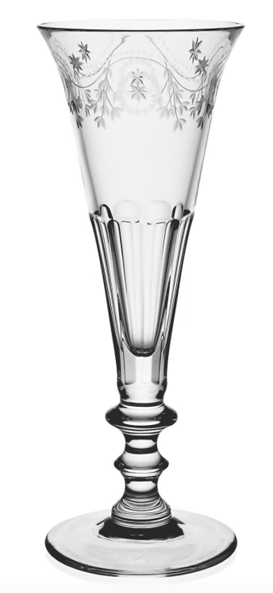 """$185.00 Bunny Flute champagne 8"""" 5oz"""