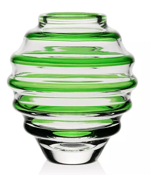 """$95.00 Vase Circle Mini 4"""" Green"""