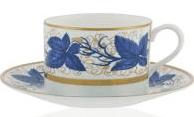 $370.00 Hampton court Blue Tea Cup&