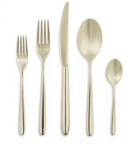 Contemporary Concepts Exclusives  Sambonet Hannah Champagne 5pc Place Setting $120.00
