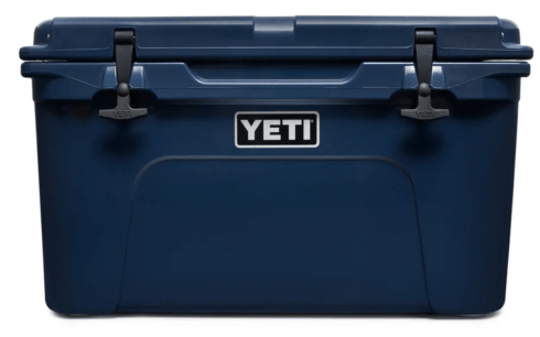 Yeti   TUNDRA 45 Navy Hard Cooler  $299.99