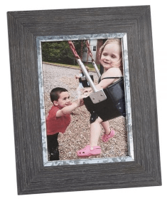 $21.99 Weathered Frame wood 4x6
