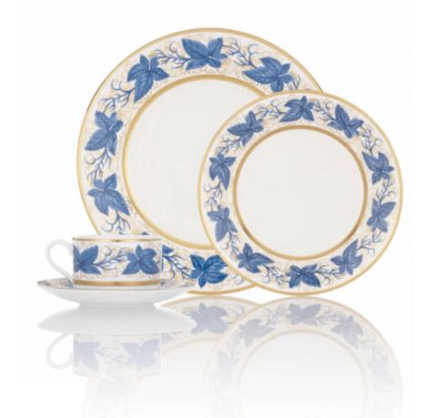 "$1,145.00 Hampton court Blue Platter 16"""