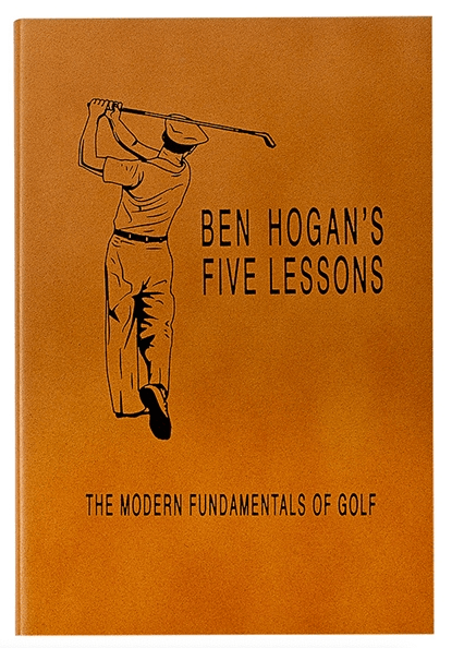 $55.00 Ben Hogan\'s Five Lessons: The Modern Fundamentals of Golf Genuine Leather