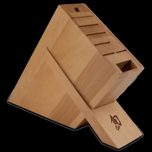 Shun Cutlery   8–Slot Kickstand Block $88.00