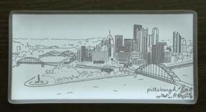 Riverside Design Group   A Platter That Matters Pittsburgh 8X16 $64.99