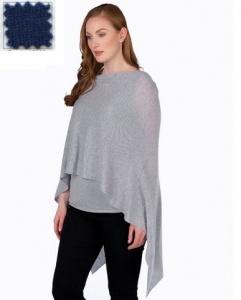 $130.00 Cashmere Dress Topper Deep Sea