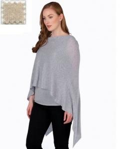 $130.00 Cashmere Dress Topper Dune
