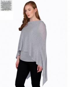 $130.00 Cashmere Dress Topper Ash