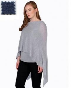 $130.00 Cashmere Dress Topper Denim