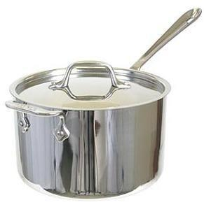 All-Clad   Stainless ~ Sauce Pan 4Qt W/L $195.50