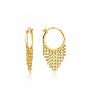$79.00 Fringe Fall Earrings Gold