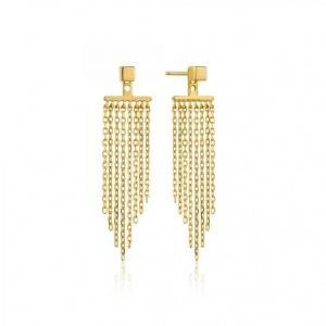 $69.00 Fringe Fall Ear Jackets Gold