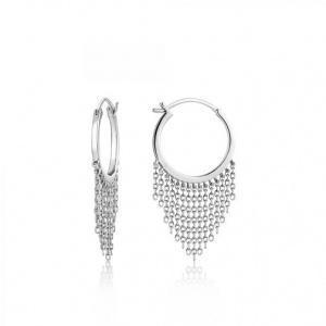 $79.00 Fringe Fall Earrings Silver
