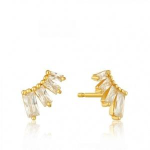 $29.00 Glow Stud Earrings Gold