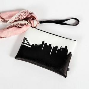 $35.95 Pittsburgh Skyline Clutch