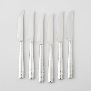 $100.00 Anvil Steak Knife 6Pc Set