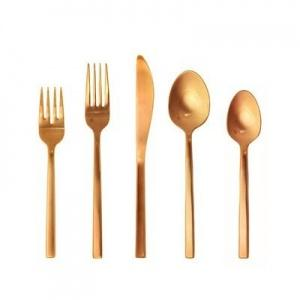 $59.95 Arezzo Rose Gold 5Pc Place