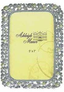 $45.00 Pearl Jewel Silver Frame 4X6