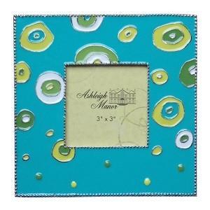 $19.99 Retro Turquoise Frame 3X3