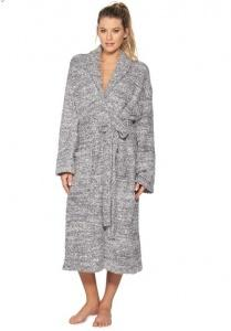 $127.00 Cozychic Robe Graphite/White 1