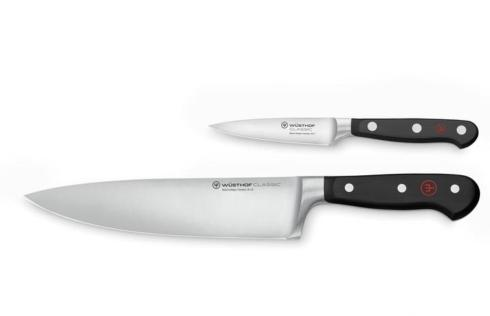 """$194.99 Classic Two Piece Starter Set  (3.5"""" paring knife & 8"""" cooks knife)"""