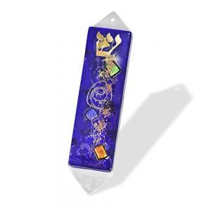 $50.00 Mezuza Small Celestial Blue