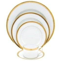$95.00 Athena Gold Dinner Plate