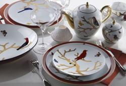 $180.00 Aux Oiseaux Teacup & Saucer