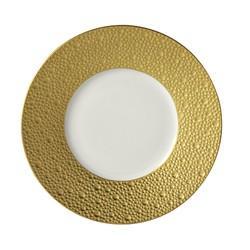 $240.00 Ecume Gold Dinner Plate
