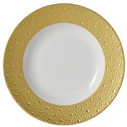 """$240.00 Ecume Gold Soup Bowl 9"""""""