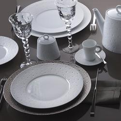 $221.00 Ecume White 5Pc Place Setting