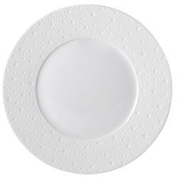 """$61.00 Ecume White Dinner Plate 10.2"""""""