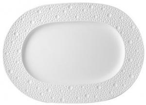 $114.00 Ecume White Relish Dish