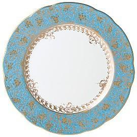 $232.00 Eden Turquoise Dinner Plate