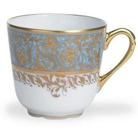 $184.00 Eden Turquoise Coffee Cup
