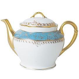 $1,393.00 Eden Turquoise Teapot 12Cup