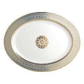 """$993.00 Elysee Platter 15"""" Oval"""