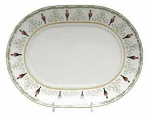 "$305.00 Grenadiers Platter 13"" Oval"